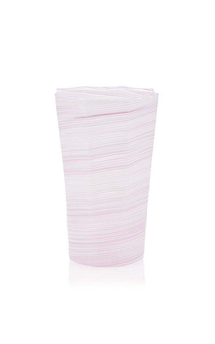 "Exclusive Set-of-Two  Homespun Medium Venetian 5 3/8"" Glass"