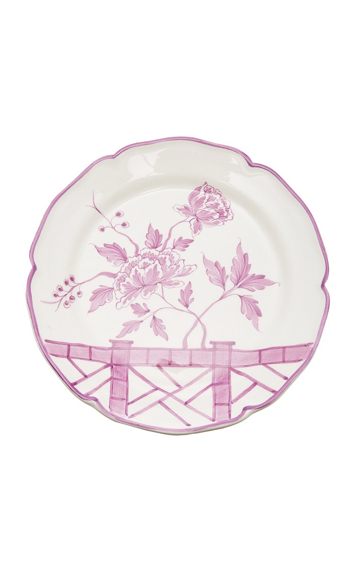 Exclusive Set-of-Two Le Jardin Chinois Dessert Plate