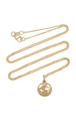 Earth 14K Gold Necklace