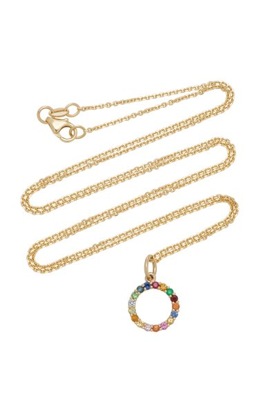 Partnership 14K Gold Multi-Stone Necklace