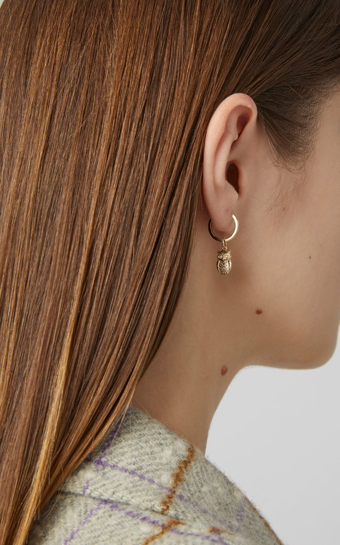 Knowledge 14K Gold Earring