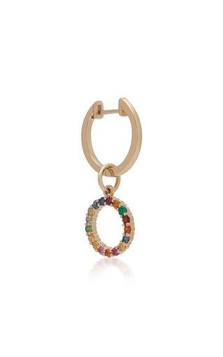 Partnership 14K Gold Multi-Stone Earring