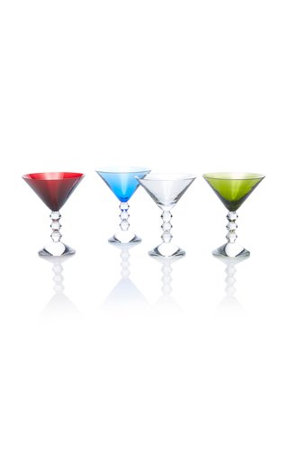 Set-Of-Four Véga Martini Glasses