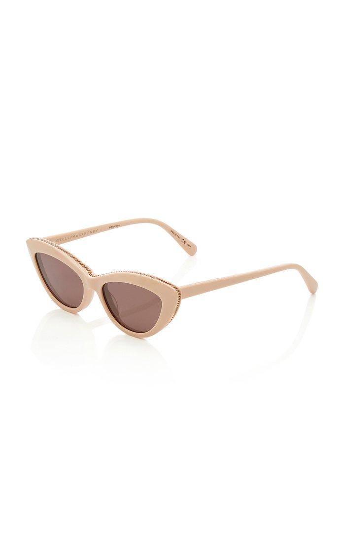 Falabella Cat-Eye Acetate Sunglasses
