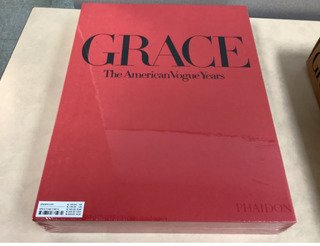 Grace: Thirty Years of Fashion at Vogue Signed Hardcover Book