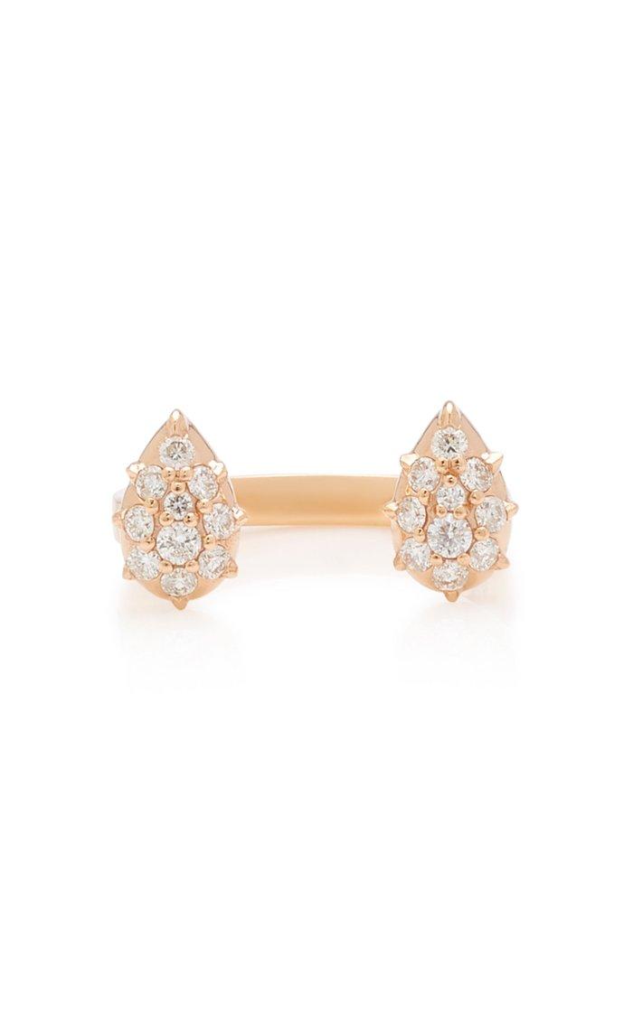 Stella Rose-Gold Diamond Ring