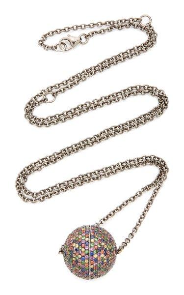 9K Gold Multistone Necklace