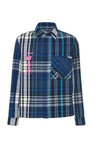 Print Cotton-Poplin Shirt