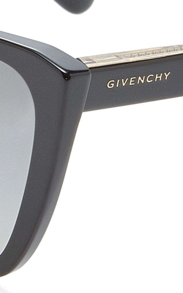 Oversized Acetate Square-Frame Sunglasses