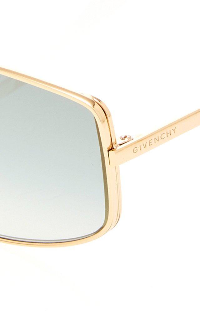 Metal Aviator-Style Sunglasses