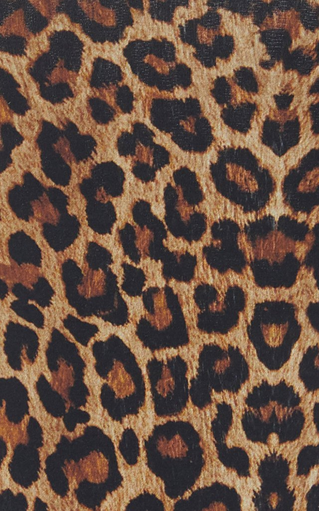 Leopard-Print Swimsuit