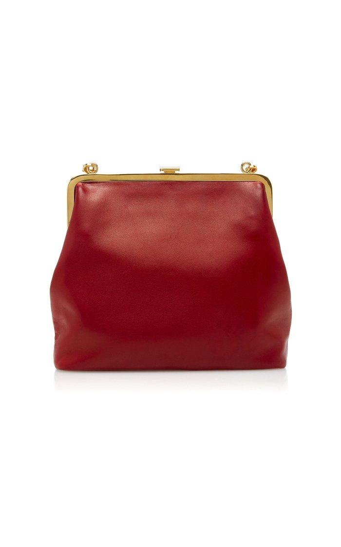 Medium Susanna Leather Frame Pouch