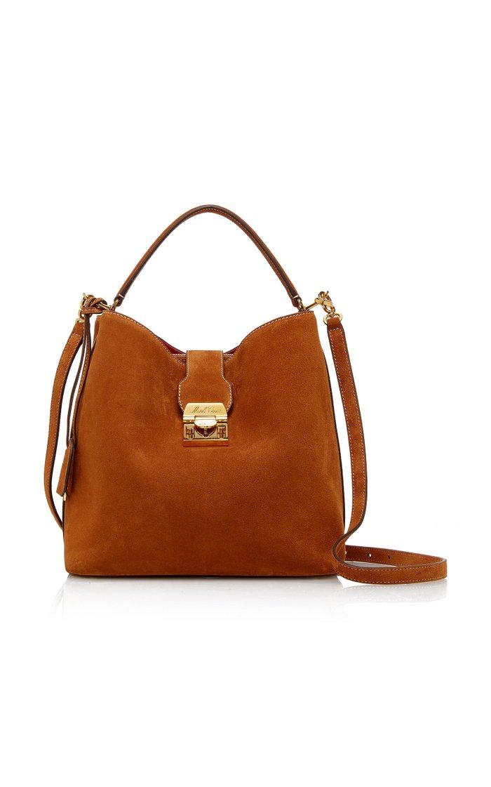 Medium Murphy Suede Bucket Bag