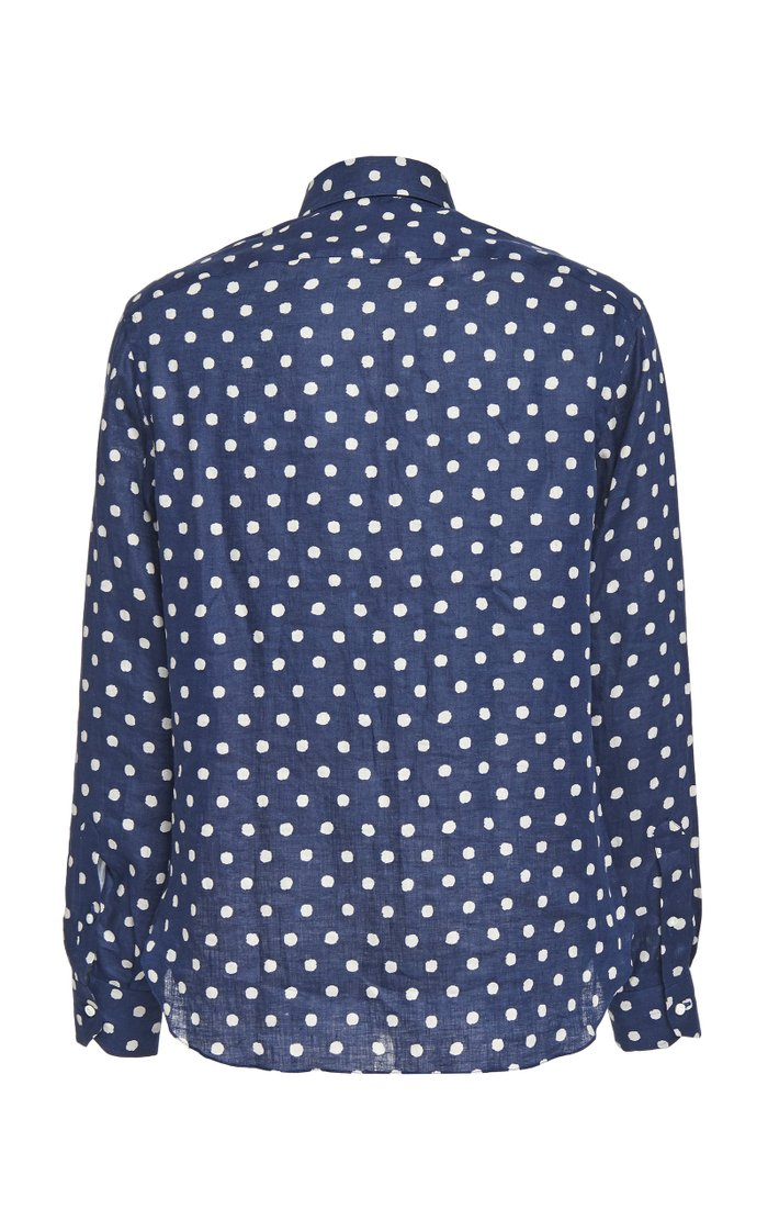 Polkadot Cotton Sportshirt