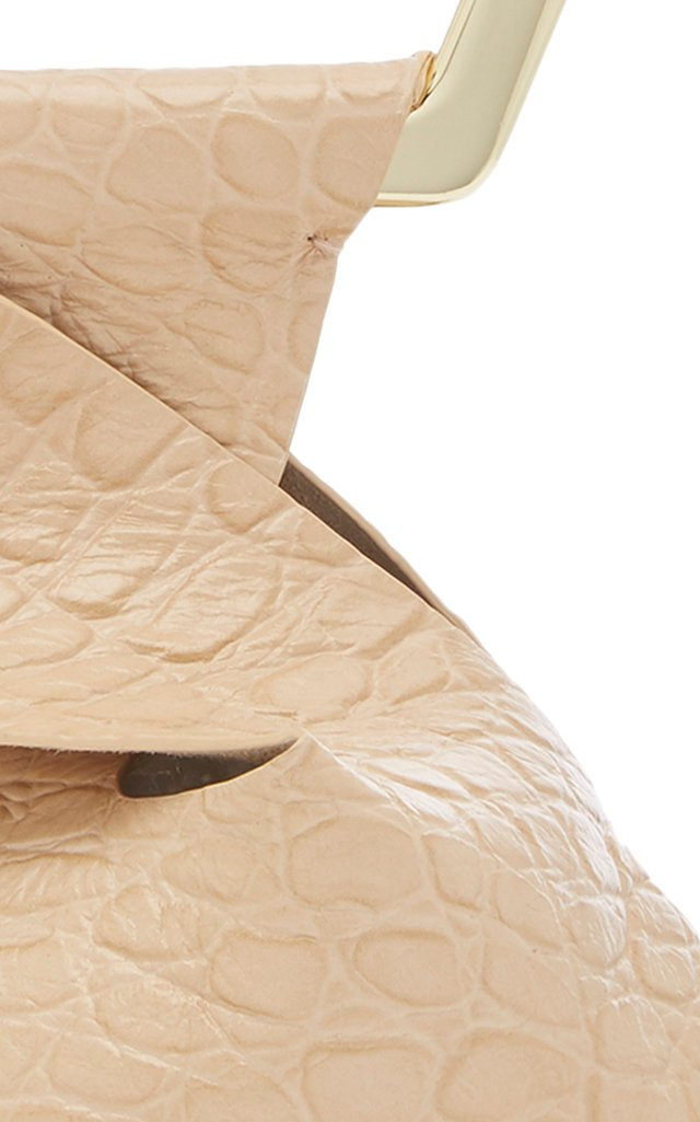 Astraea Mini Croc-Effect Leather Tote