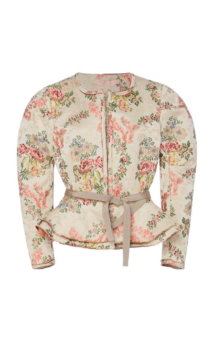 Panicucci Floral Cotton-Blend Jacket