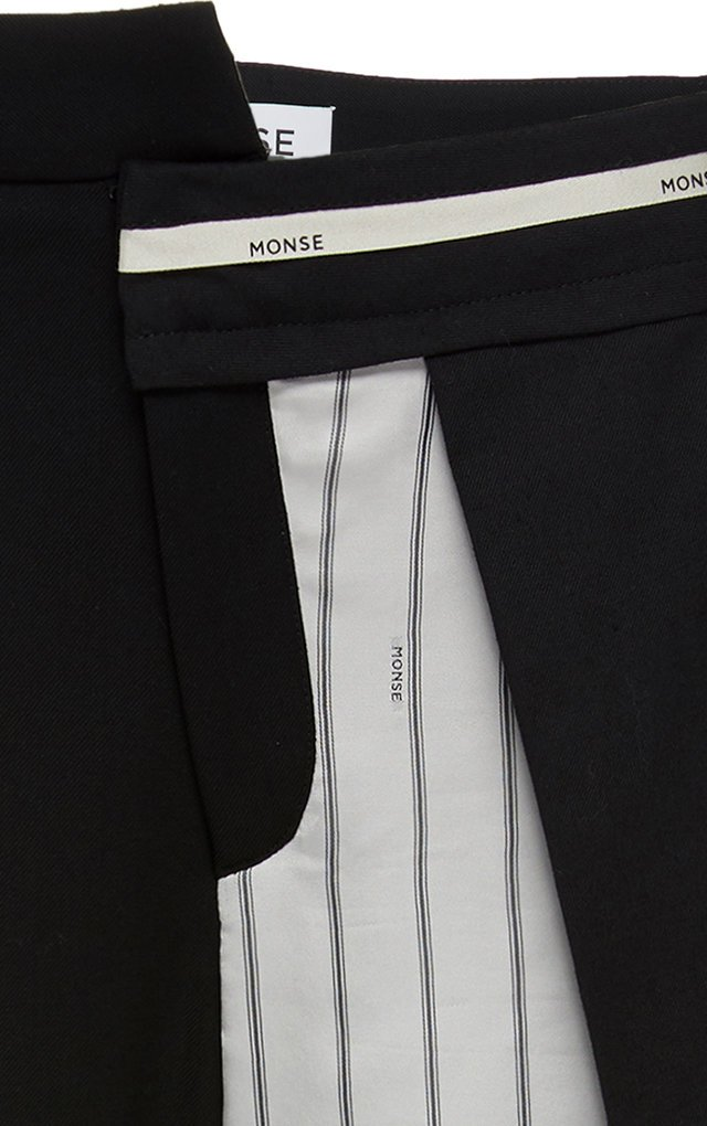 Inside Out Pinstripe-Detailed Wool-Blend Pants