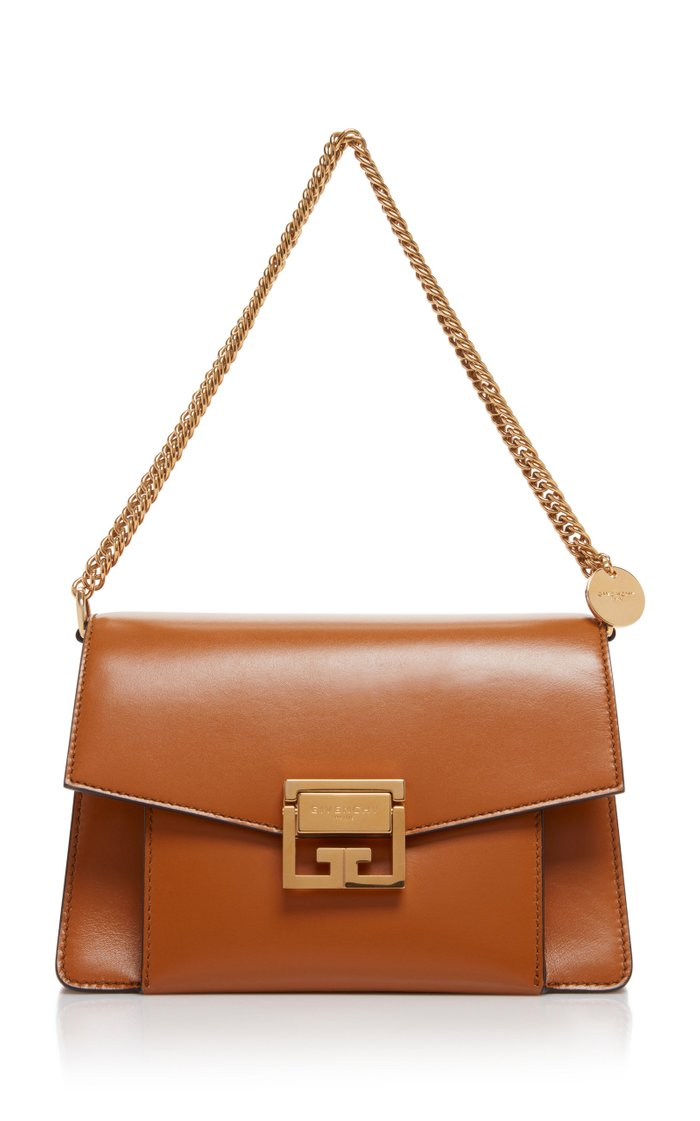 GV3 Leather Shoulder Bag