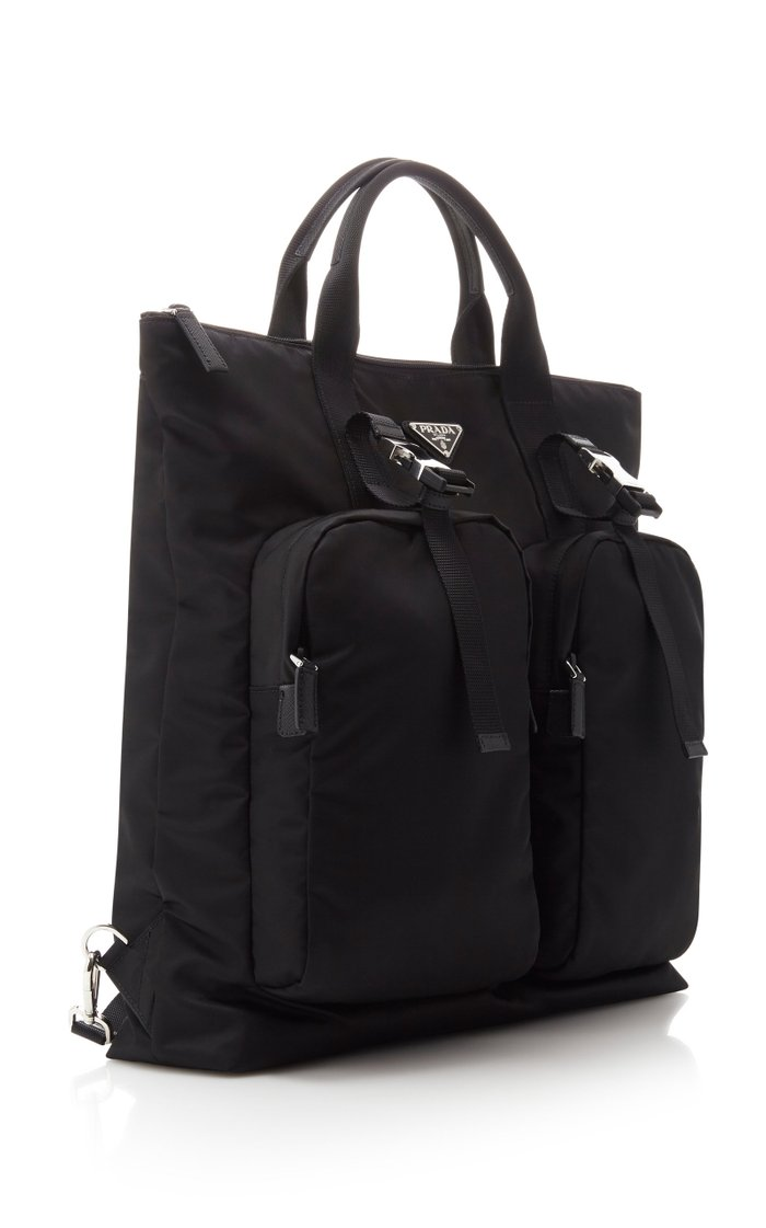 Convertible Nylon Tote Bag