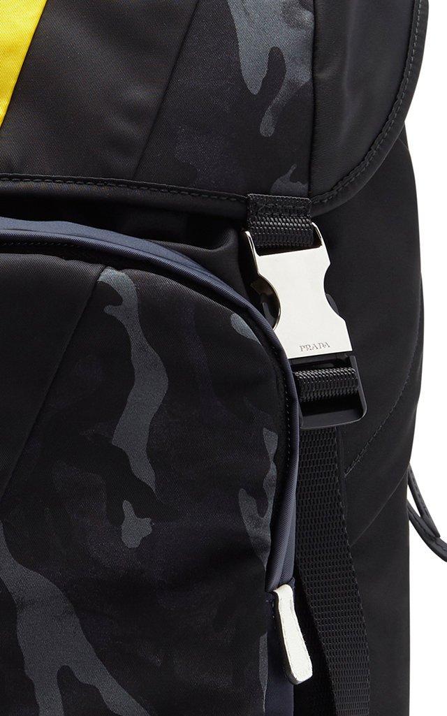 Printed Nylon Backpack