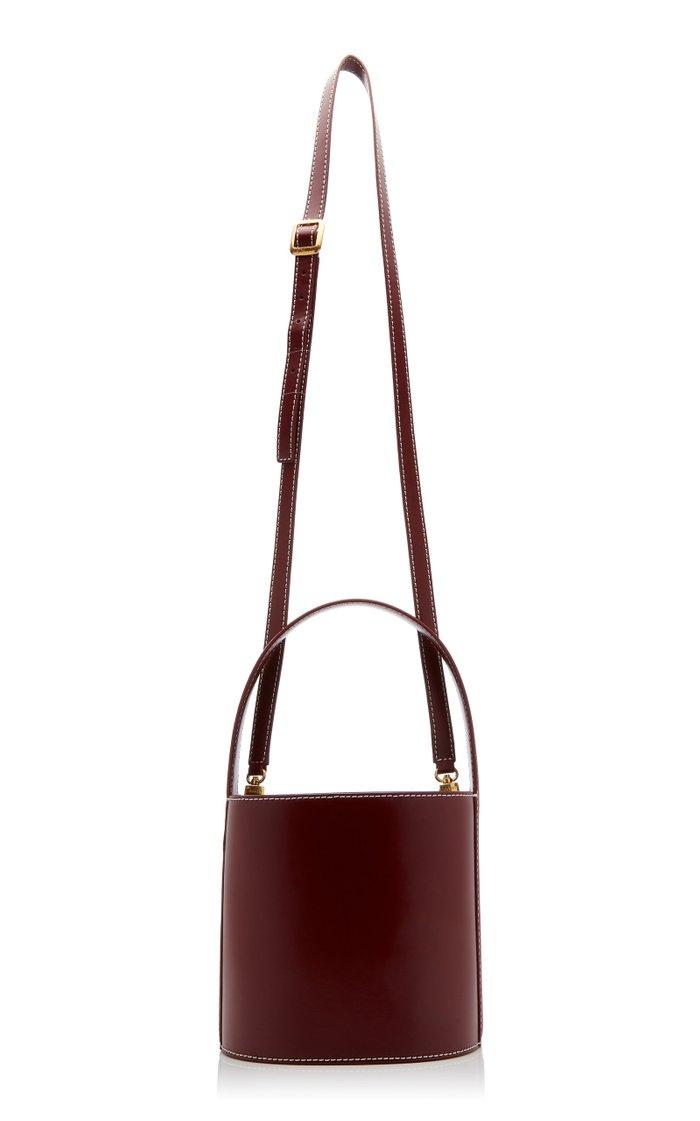 Bissett Leather Bucket Bag