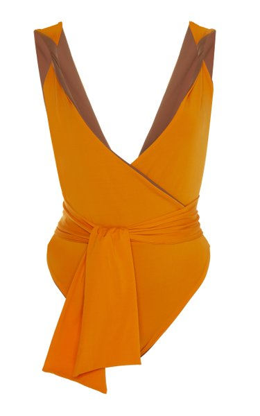 Exclusive It's Been A While Belted One-Piece Swimsuit