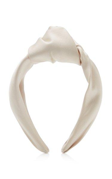 Maryn Knotted Satin Headband