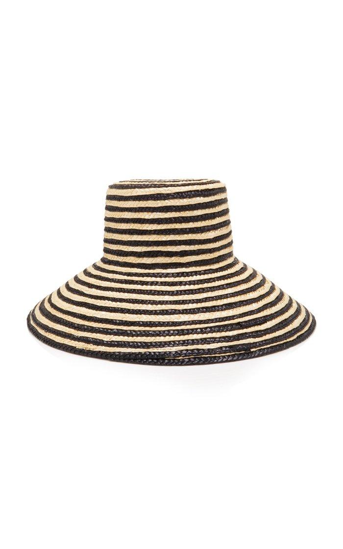 Annabelle Striped Straw Sunhat