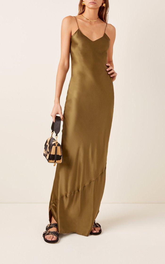 Cami Silk-Charmeuse Gown