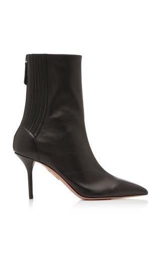 Saint Honore Leather Ankle Boots