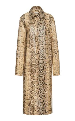 Python-Printed Coat