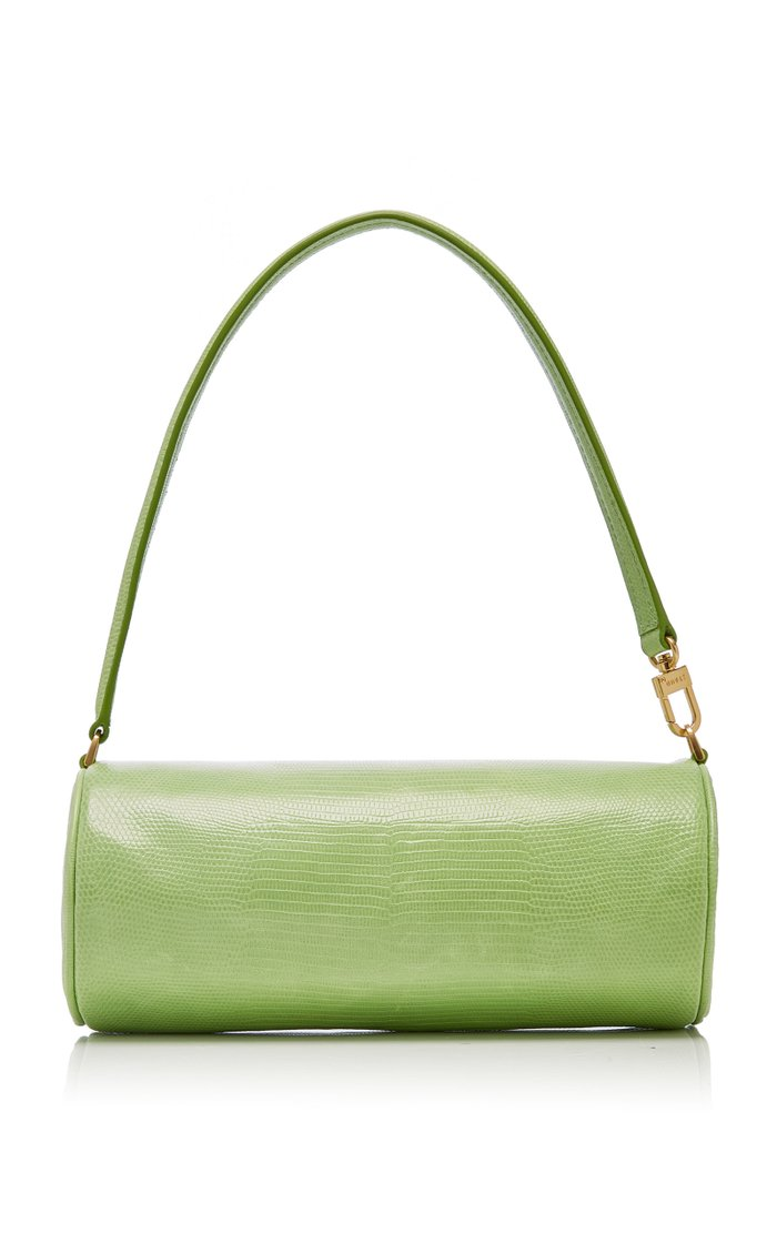 Suzy Lizard-Effect Leather Bag