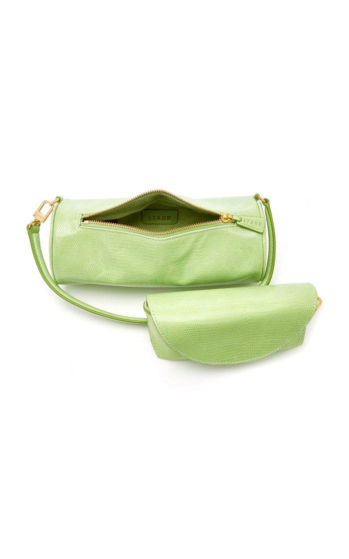 Suzy Lizard-Effect Leather Bag