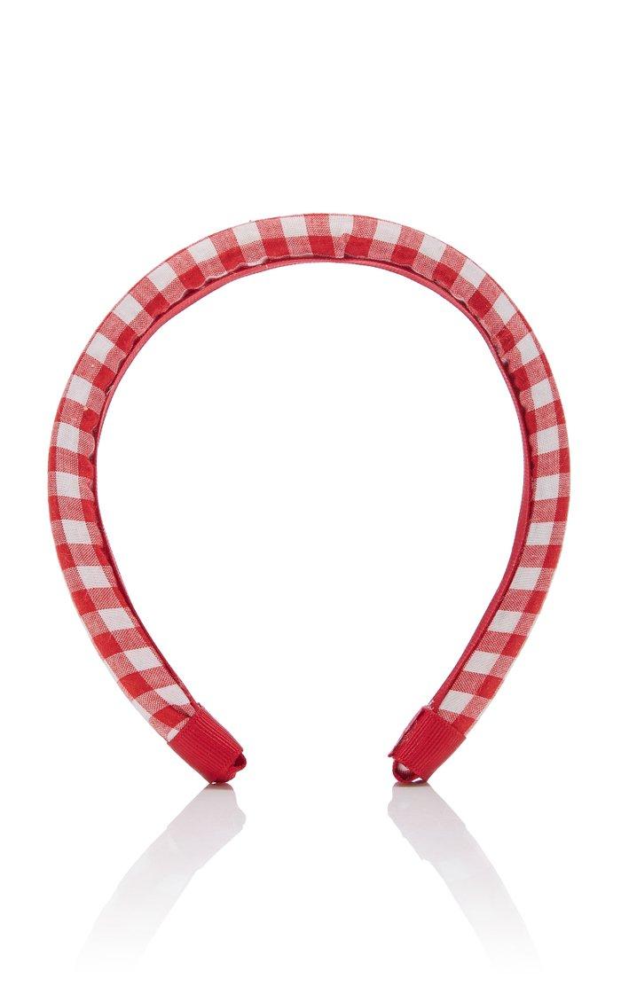 Gingham Cotton Headband