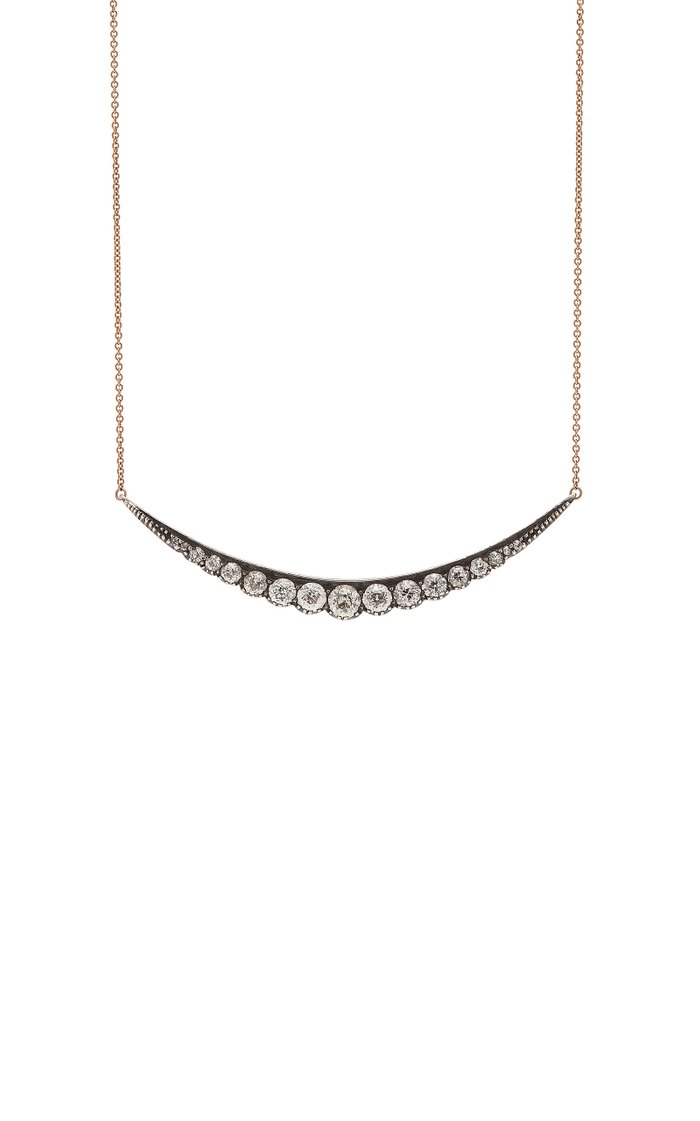 Maya Rose Gold Diamond Necklace