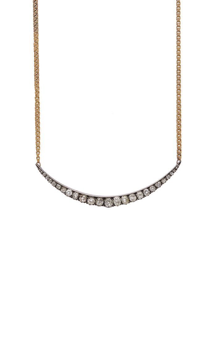 Jennifer One-Of-A-Kind Gold and Diamond Necklace