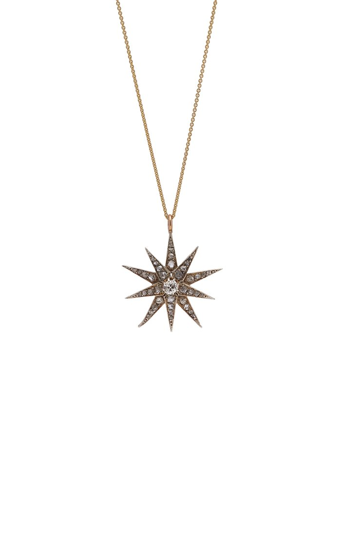 Conway Gold Diamond Necklace