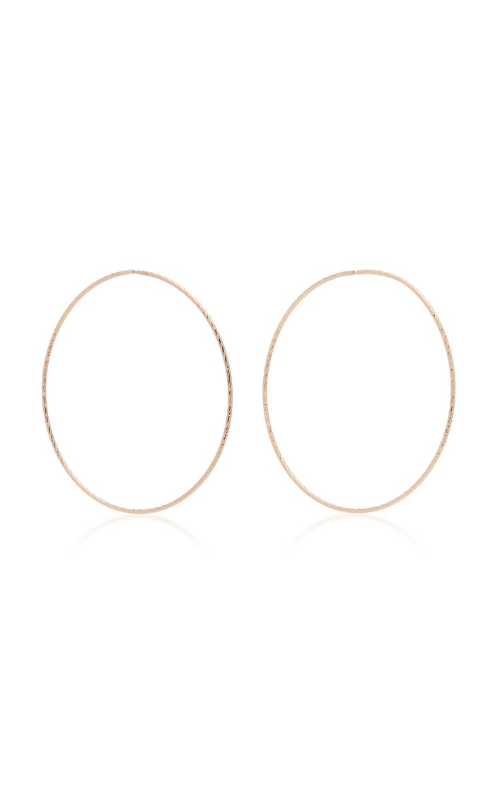 Liv 14K Gold Hoop Earrings