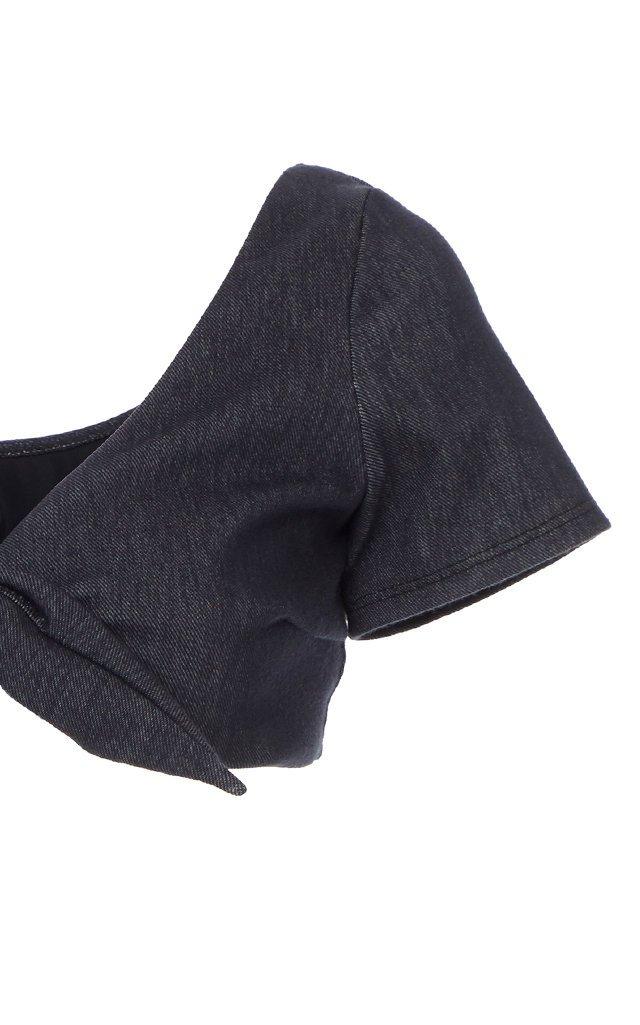 Vanessa Knotted Denim Bikini Top