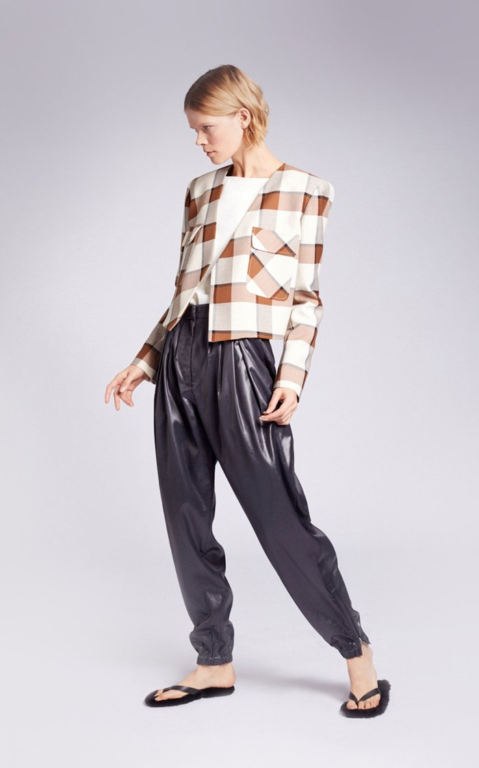 Liquid Drape Pleated Pants