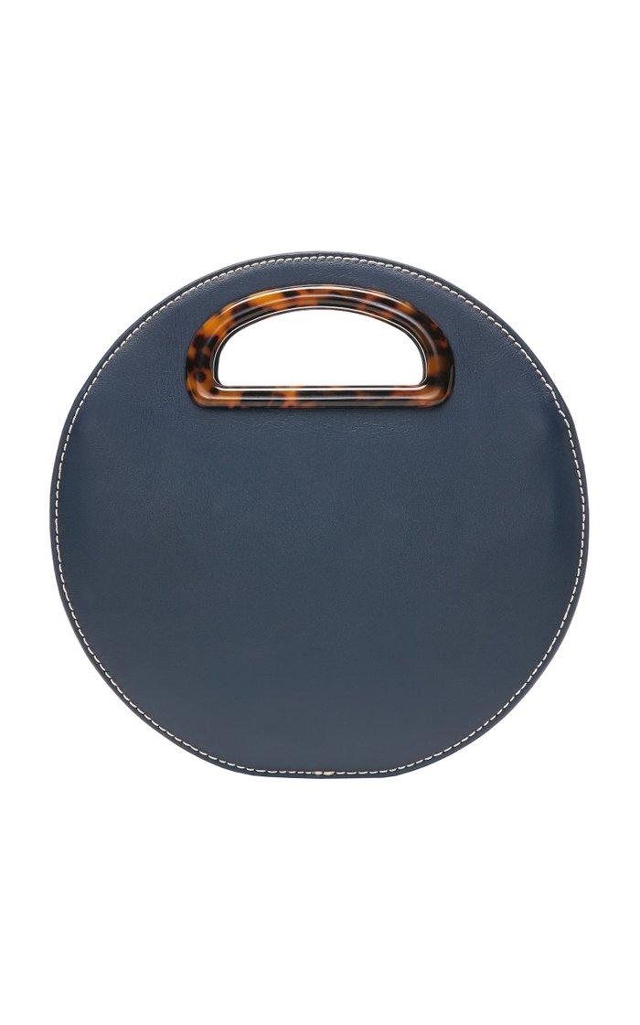 Indy Circle Leather Crossbody Bag