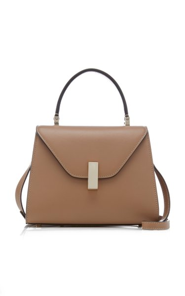Iside Small Leather Top Handle Bag