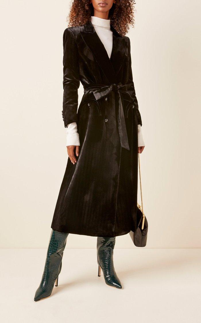 Etoile Velvet Blazer Midi Dress
