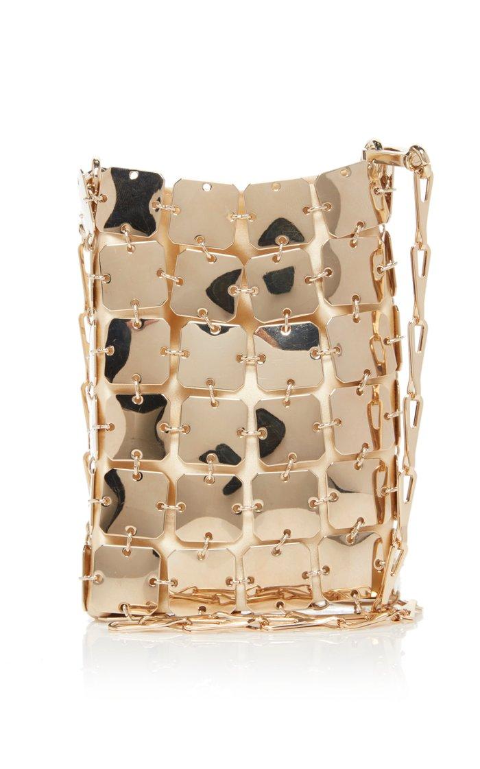 Square Mini 1969 Iconic Brass Bag