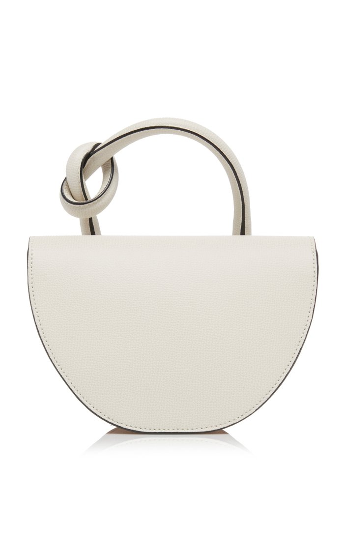 Dolores Color-Block Textured-Leather Bag