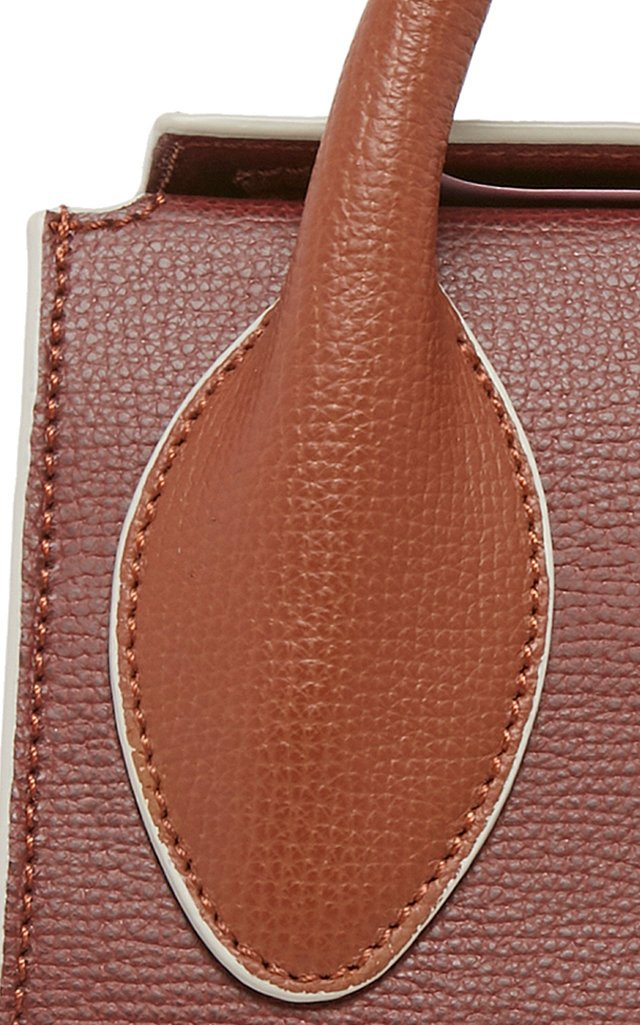 Tortilla Knotted Textured-Leather Bag