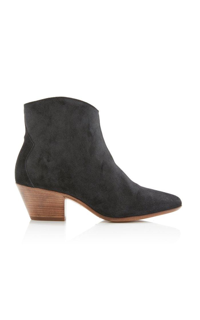 Dacken Velvet Ankle Boots