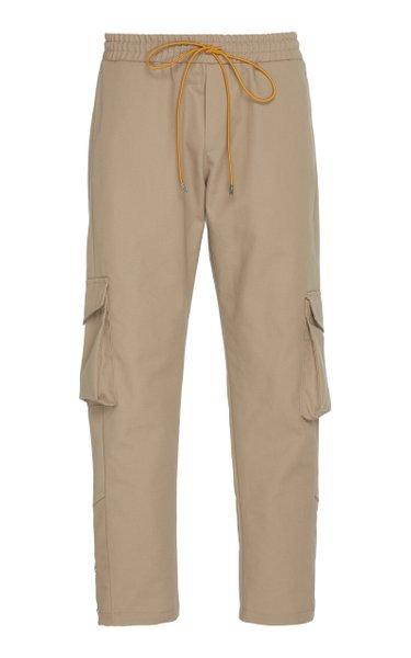 Rifle Cotton-Twill Cargo Pants