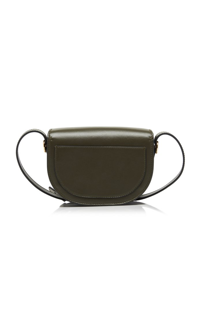 Nano Leather Shoulder Bag