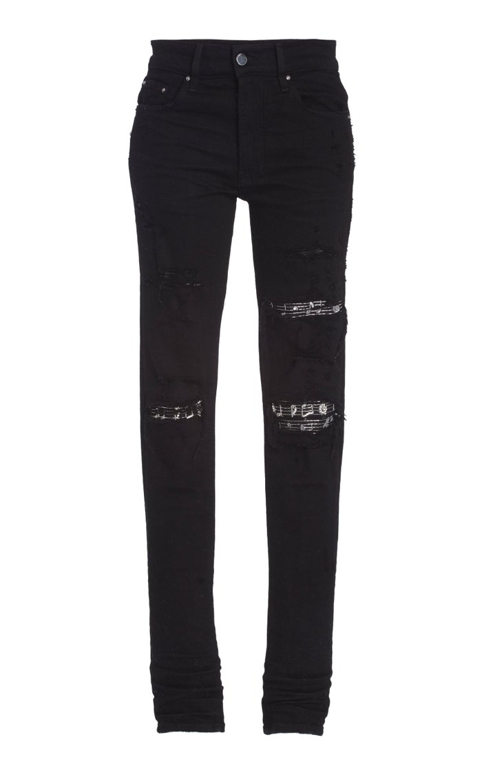 Music Note Patch Jean